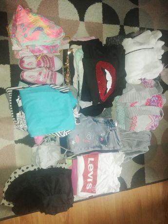 Ubranka dla dziewczynki 134