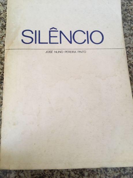 Livro antigo raro - 1979 - O silêncio