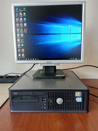 Комп'ютер з монітором