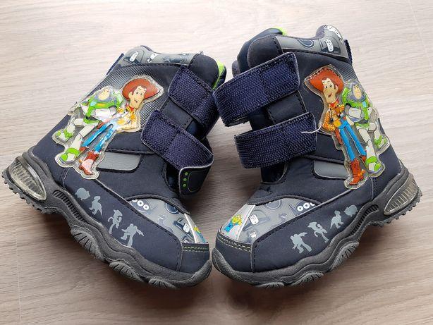 Buty zimowe śniegowce dziecięce r.23