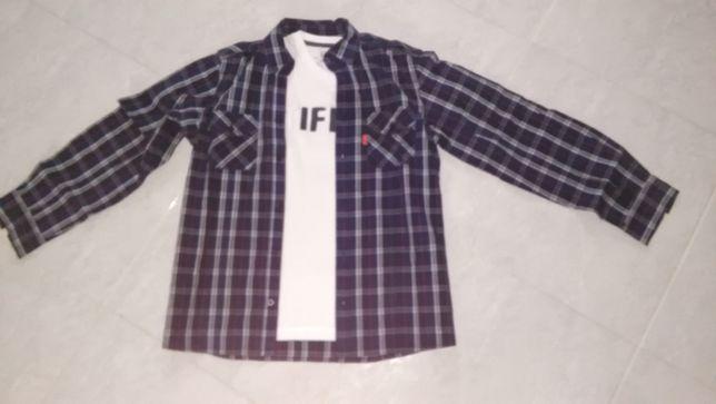 Conjunto de menino Camisa + T-Shirt da marca Tiffosi