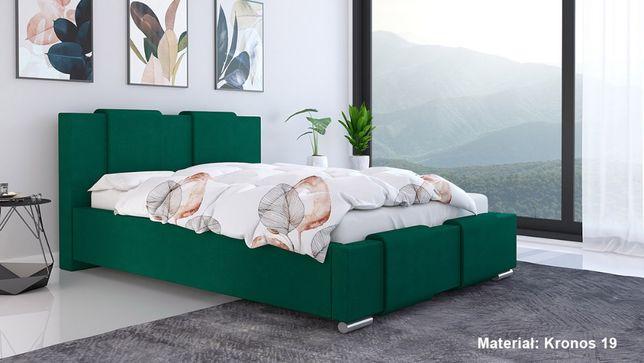 Łóżko tapicerowane LUX 6 90x200 Stelaż + pojemnik na pościel