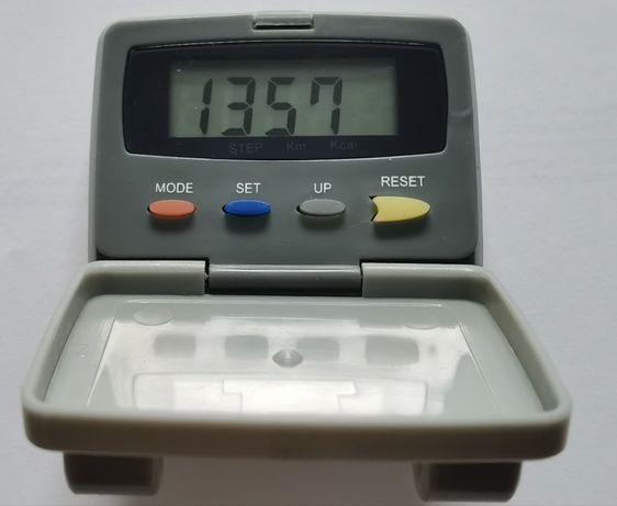 Krokomierz pedometr zegarek Dunlop nowa bateria