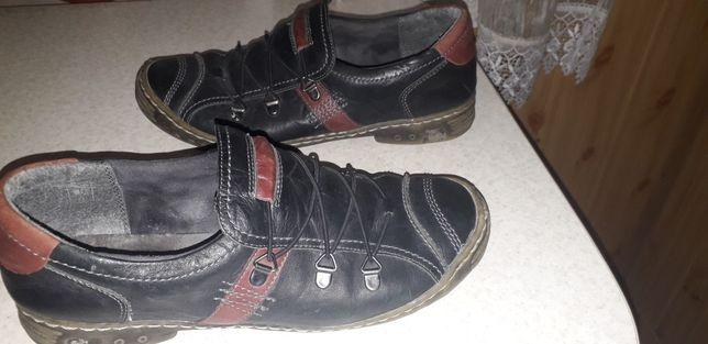 Туфли кожаные 42р. Туфлі