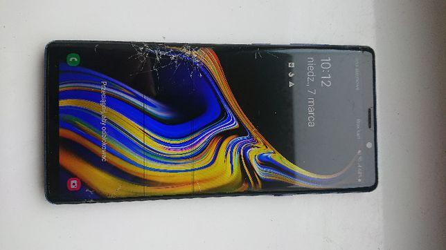 Samsung Galaxy Note 9 zbity