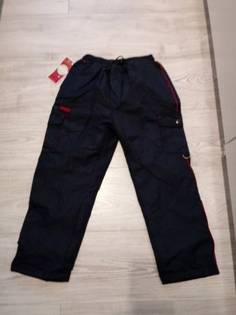 Spodnie ocieplane 128 nowe