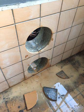 Алмазное сверление отверстий Резка бетона без пыли Демонтаж