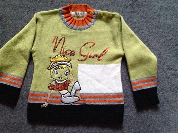 Качественный свитерок на девочку