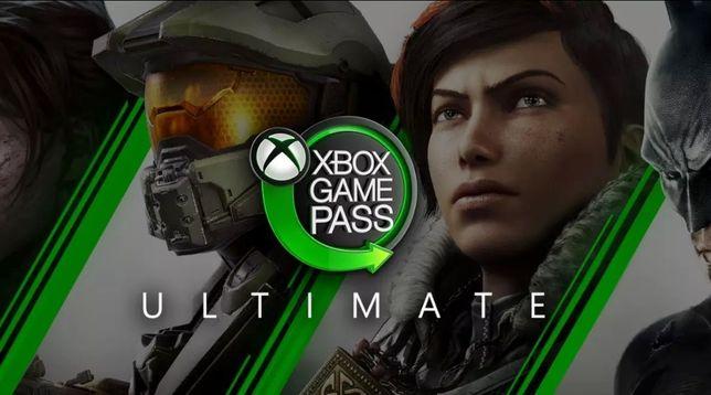 Подписка Xbox Game Pass Ultimate все сроки Gamepass Gold