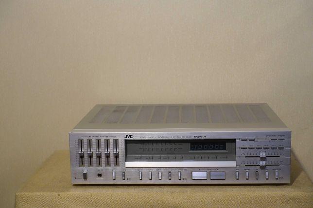 Высококачественный HI-FI ресивер 80-х JVC R-S77 (2х60Вт/10,5кг)