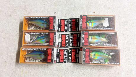 Amostras de pesca marca RAPALA modelo RATTLIN RNR-5