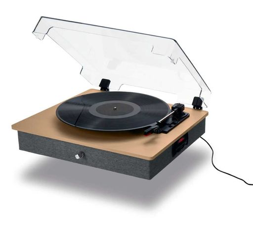 Gramofon Hykker USB SD Bluetooth Vintage Retro Vinyl Turntable Klasyka