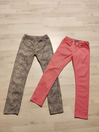 2 pary jeansów Yigga i Colour Zone rozm. 128 cm