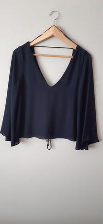 Blusa azul marinha Zara tam. S