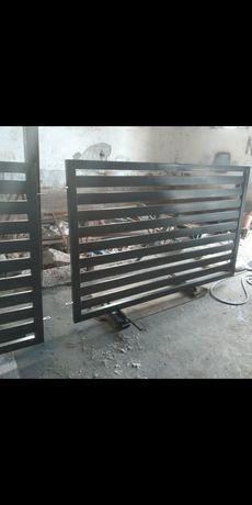 Przęsła ogrodzeniowe panelowe palisada