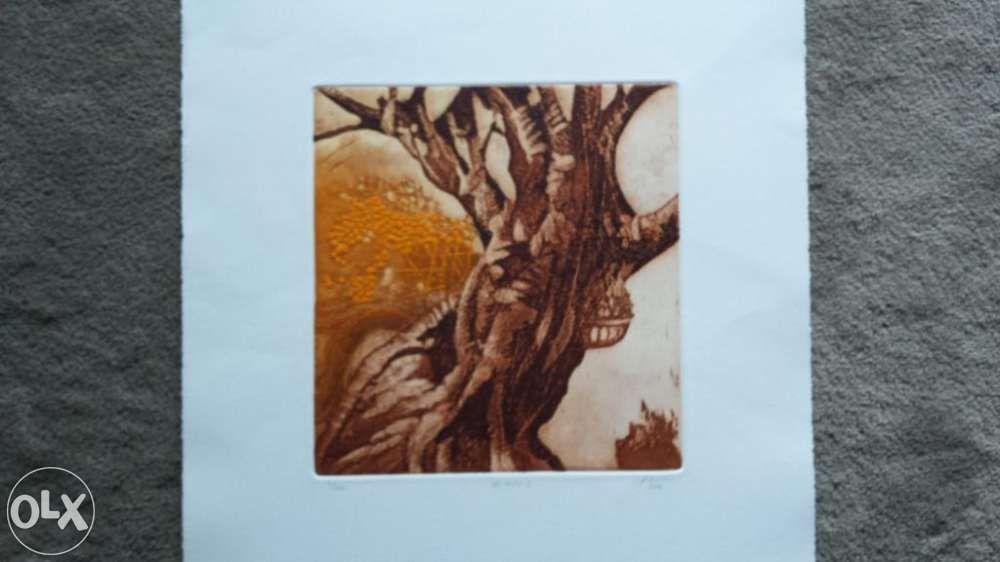 Vendo Serigrafia de José Faria 3 Parque das Nações - imagem 1