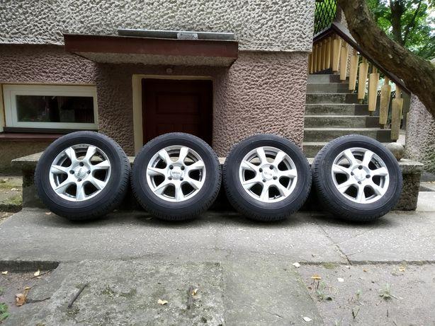 Koła 14cali opony Dunlop 185/70 4x108 Audi