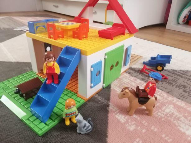 Domek gospodarstwo  farma playmobil