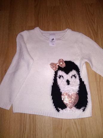 Sweter dziewczęcy 104