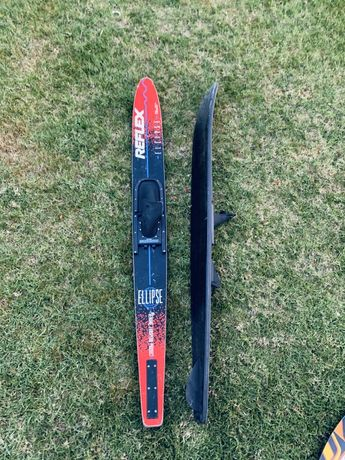 Par skis aquáticos reflex adulto