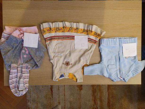Paka ubrań niemowlęcych dla dziewczynki