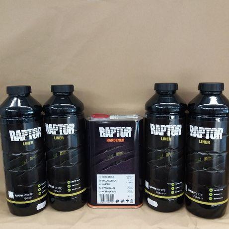 Покрытие повышенной прочности (краска) U-POL Raptor 4 литра