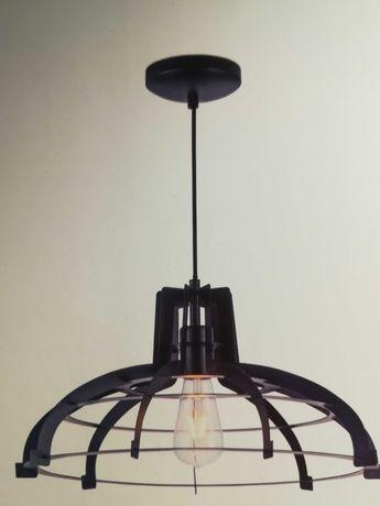 Lampa sufitowa metalowa