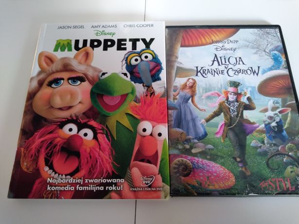 Dvd Dwa Filmy Disneya