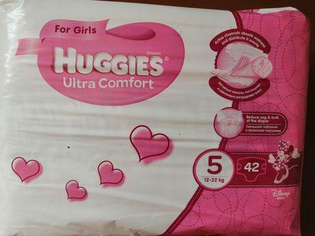 Подгузники Huggies ultra comfort для девочек 5, 42шт