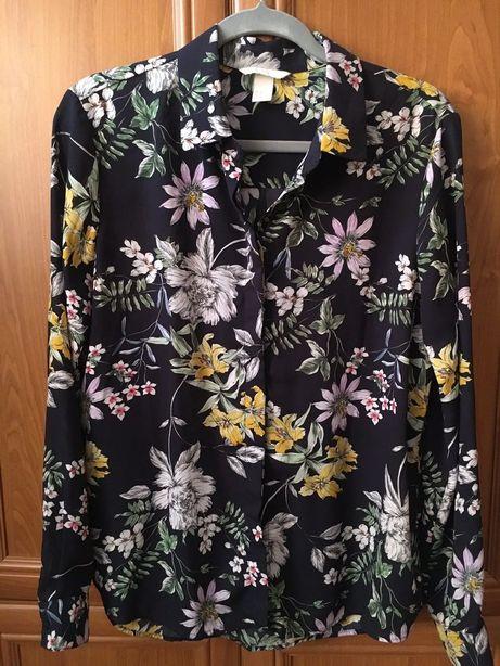 Koszula w kwiaty H&M r. 38 (pasuje na osoby noszące r. 40) 5zl wysyłka