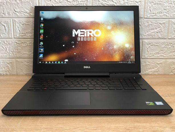 Как новый! В идеале! Игровой ноутбук Dell 7567. CORE i5, GTX 1050 TI