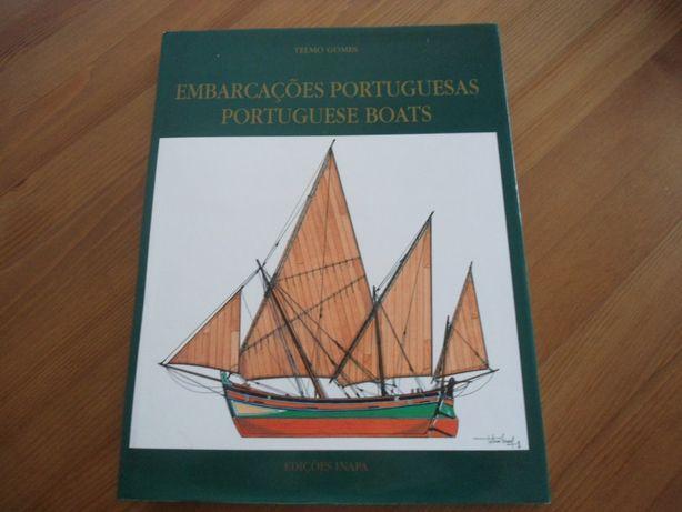 Embarcações Portuguesas - Telmo Gomes (1997) Edições Inapa