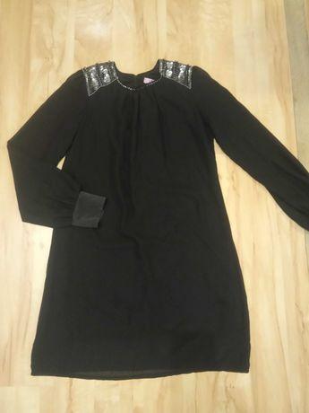 Paprika Czarna sukienka sylwestrowa sylwester 36 38