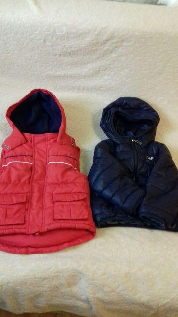 Жилетка та куртка 1-2.5 роки