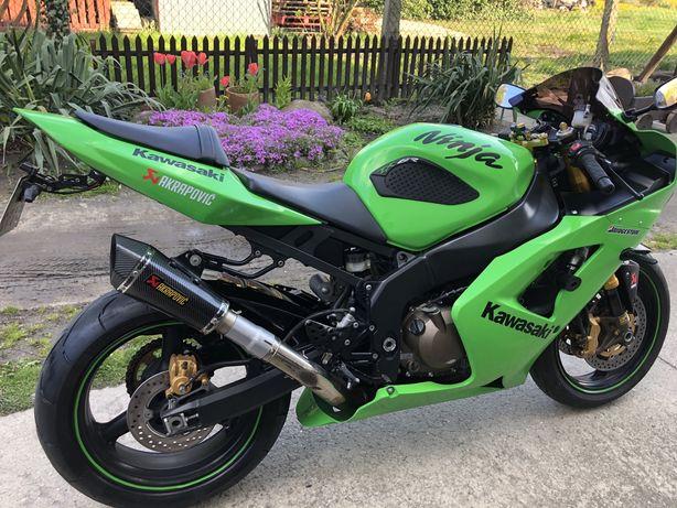 Kawasaki ZX600 przygotowana do sezonu