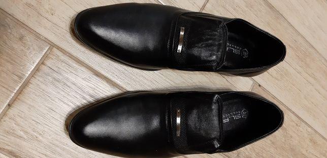 Мужские туфли новые 44р кожа