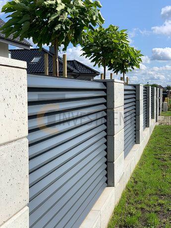 Bloczki pustaki betonowe ogrodzeniowe - pustak ogrodzeniowy SLABB