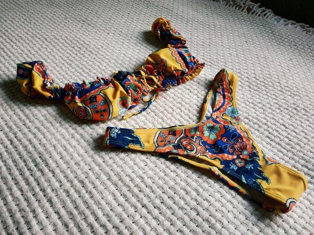 Купальник бикини со шнуровкой