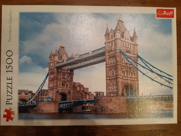 Puzzle - 1500 elementów - Trefl - Tower Bridge