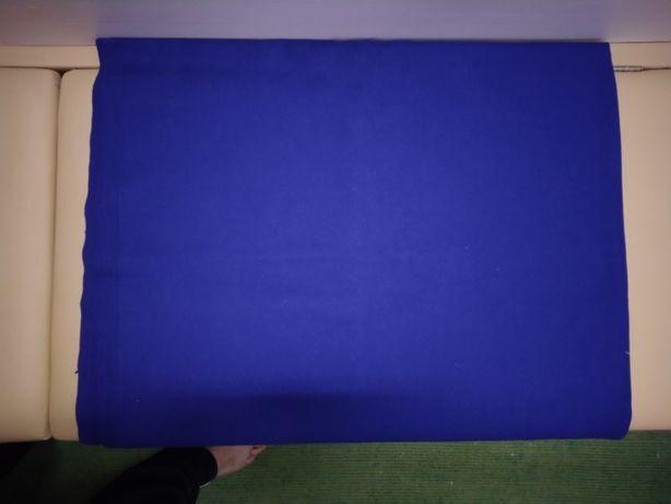 отрез советской военной ткани СССР цвета морской волны (синяя)