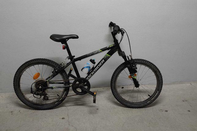 Bicicleta BTT ROCKRIDER ST500, para criança de 6 a 9 anos - RESERVADA