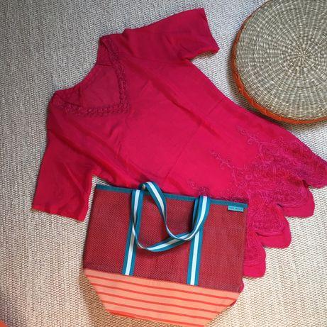 Saco e vestido de praia