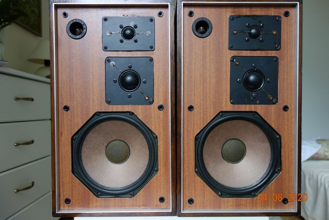 WYBITNE aktywne kolumny 3 -drożne JAMO MFB - od 25 Hz !!!