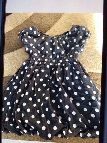 Сукня дитяча.Детское платье. 1-4 года.Тонкое платье. Платье в горошек.