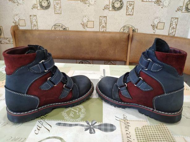 Ортопедические зимние ботинки 31р.(стелька20см)