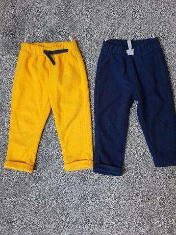 C&A Baby Club dwie pary spodni polarowych. 92 cm