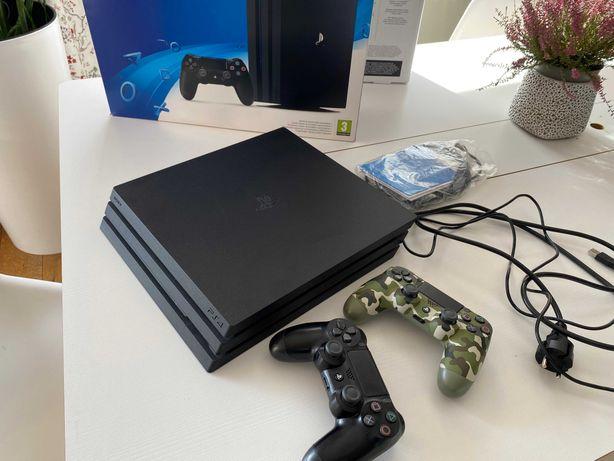 Playstation 4 Pro 1TB 2 pady stan idealny oryginalne pudełko