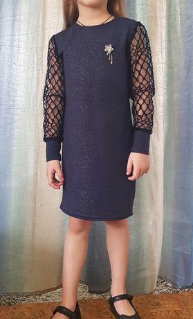 Платье туника школьное для девочки 116-140 размеры