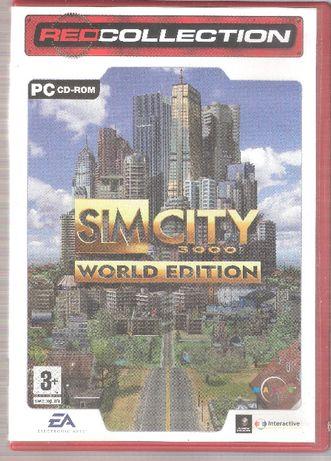 "Jogo PC CD-ROM ""Sim City 3000"" World Edition"