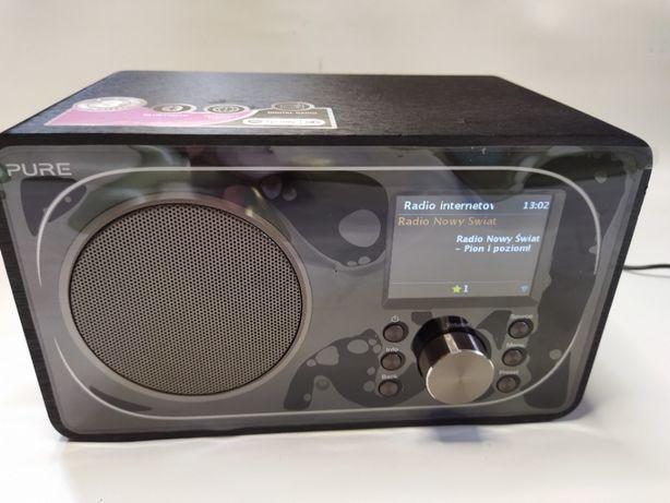 Radio internetowe PURE Evoke F3. FM (UKF), DAB, DAB+. BT